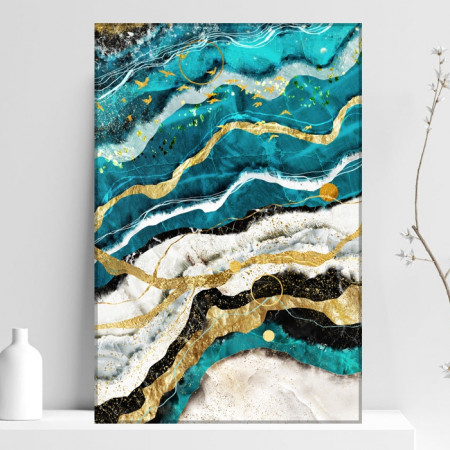 Tablou Canvas Abstract Marble MLL15