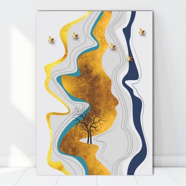 Tablou Canvas Natura Abstracta BES742