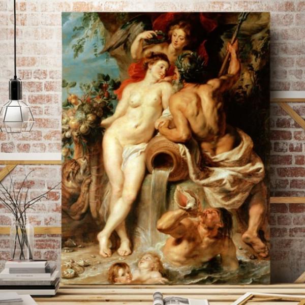 Tablou Peter Paul Rubens, Uniunea Pamantului cu Apa, RBC3