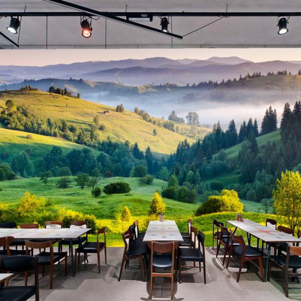 Fototapet 3D Peisaj Rural de Vara BPC2