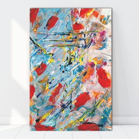 Tablou Canvas Abstract Spots CTB50