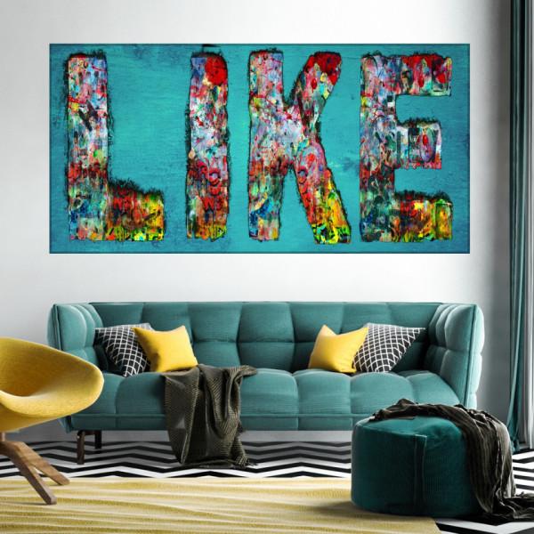 Tablou Canvas Artistic Like MART22