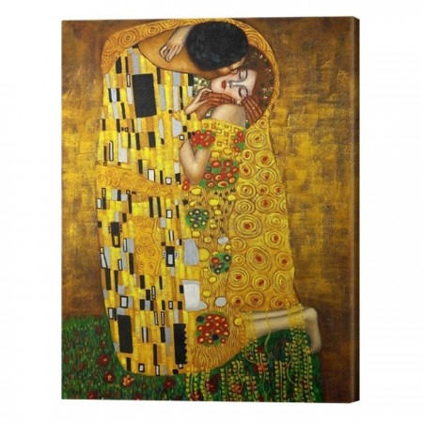 Tablou Canvas Gustav Klimt Sarutul TPGK16