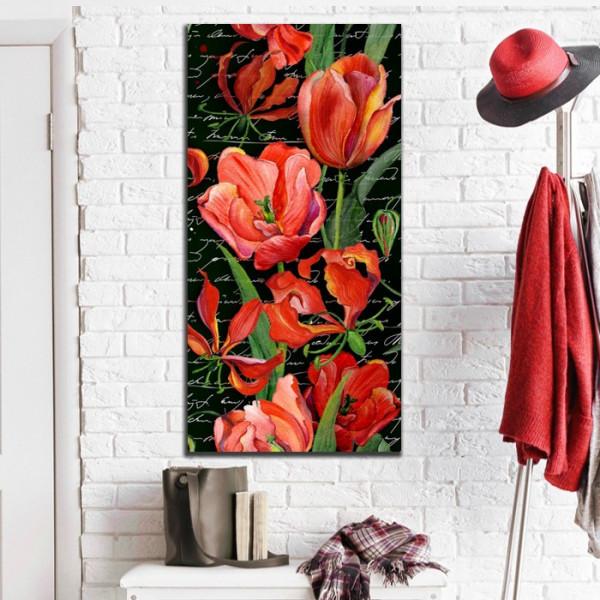 Tablou Canvas Lalele Rosii Gloria FGRL11B