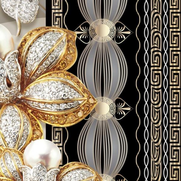 Fototapet 3D Bijuterii Cu Perle Si Cristale PFT22