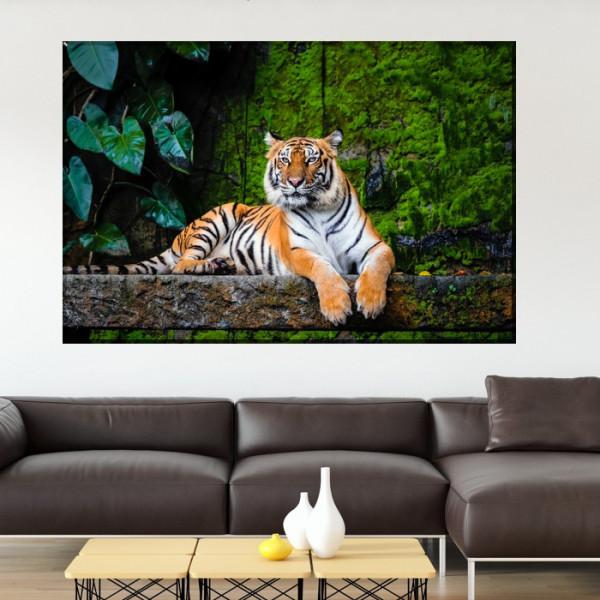Tablou Canvas Tigru Bengalez ATGR114