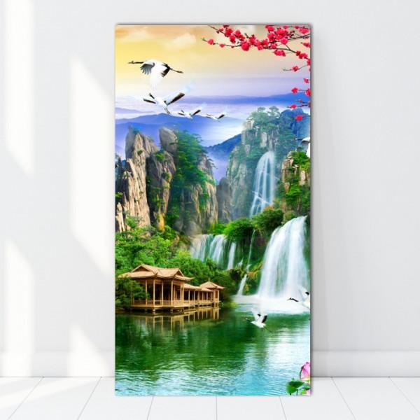 Tablou Canvas Zbor Printre Cascade BES126