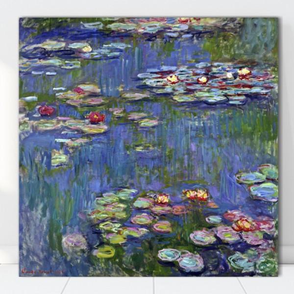 Tablou Claude Monet Nuferi RCM16