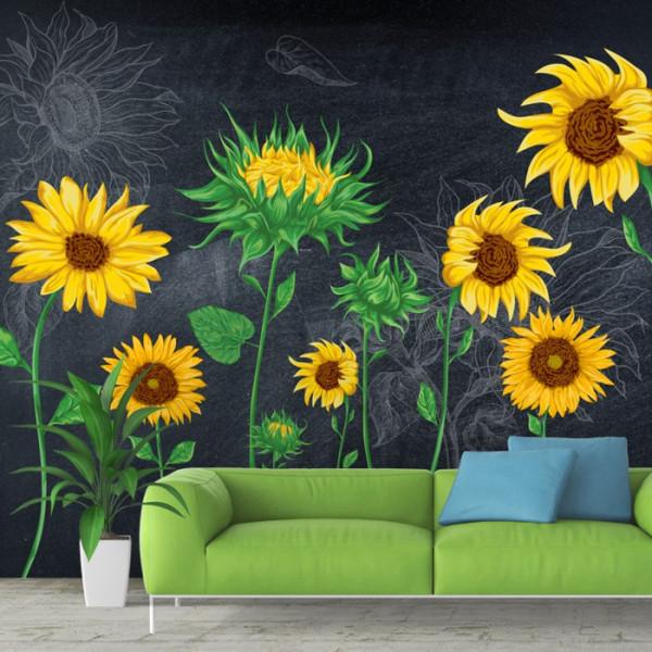 Fototapet Artistic Floarea Soarelui SUNF1