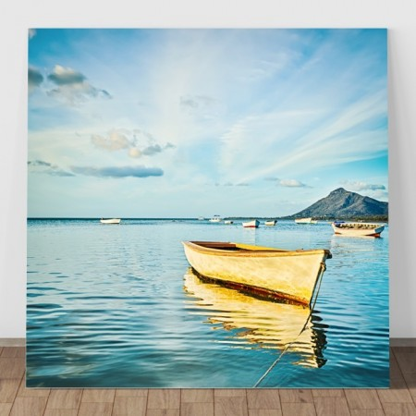 Tablou Canvas Barca in Larg BFS11