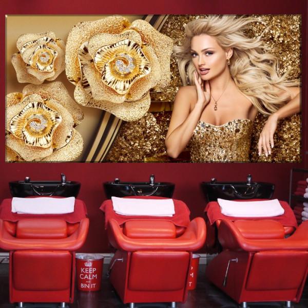 Tablou Canvas Blonde Diva AMG179