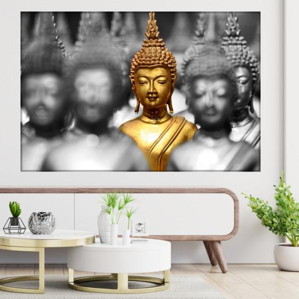 Tablou Canvas Golden Buddha FSHB35