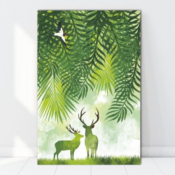 Tablou Canvas Natura Verde BES82