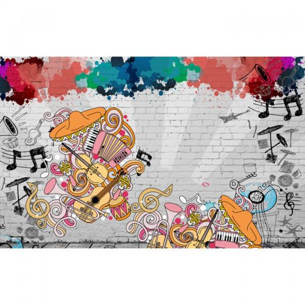 Fototapet Artistic Muzical BES54