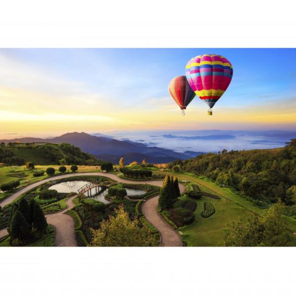 Fototapet Peisaj Balon cu Aer Cald BTL42