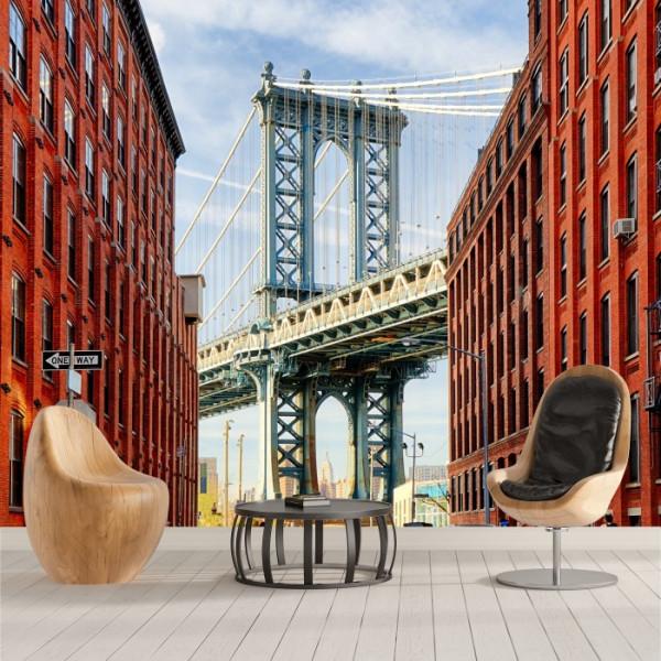 Fototapet Podul Manhattan New York, SUA TUSA71