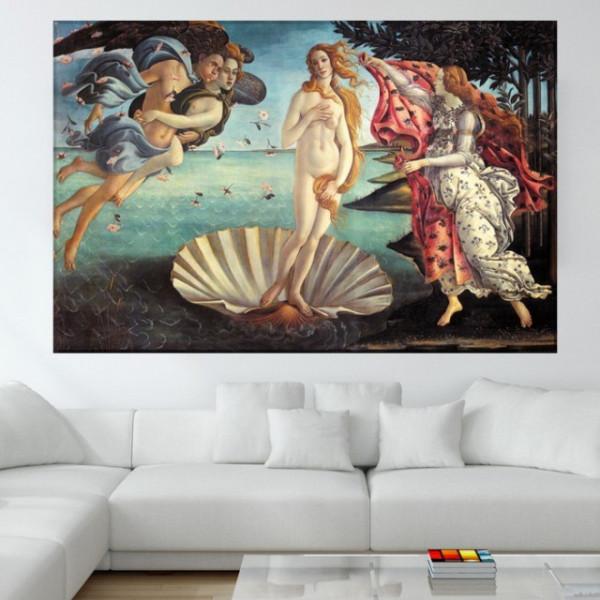 Tablou Botticelli, Nasterea Lui Venus RBOT1