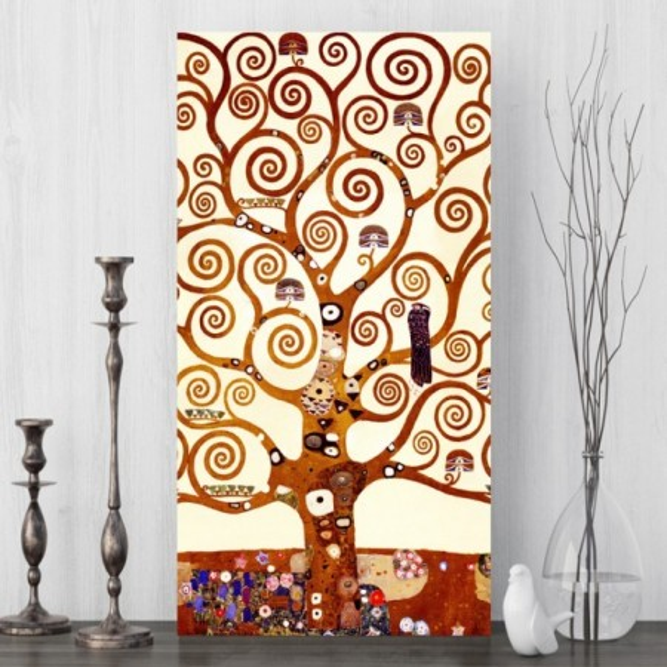 Tablou Canvas Gustav Klimt, Copacul OPOGK2