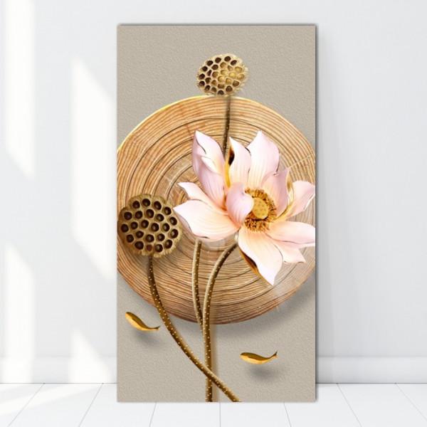 Tablou Canvas Zen Lotus BES32