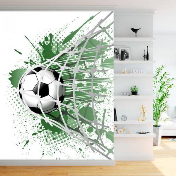 Fototapet Minge Fotbal In Plasa FT527