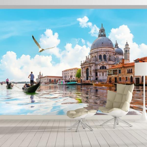 Fototapet Plimbare cu Gondola In Venetia IVE50