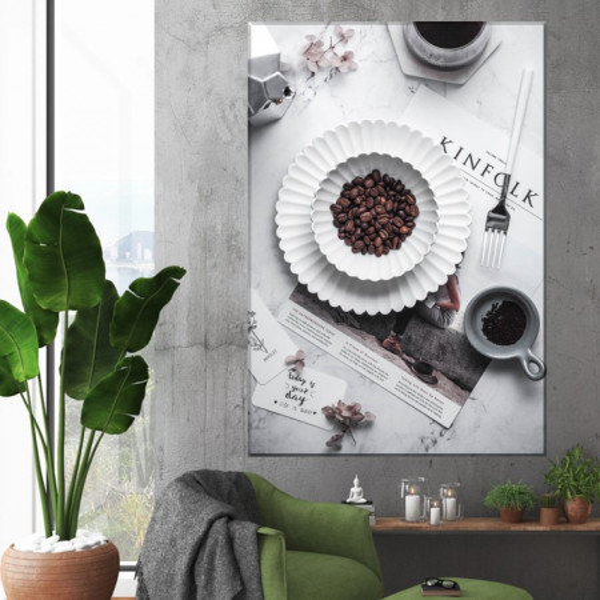 Tablou Canvas Boabe de Cafea CMH81