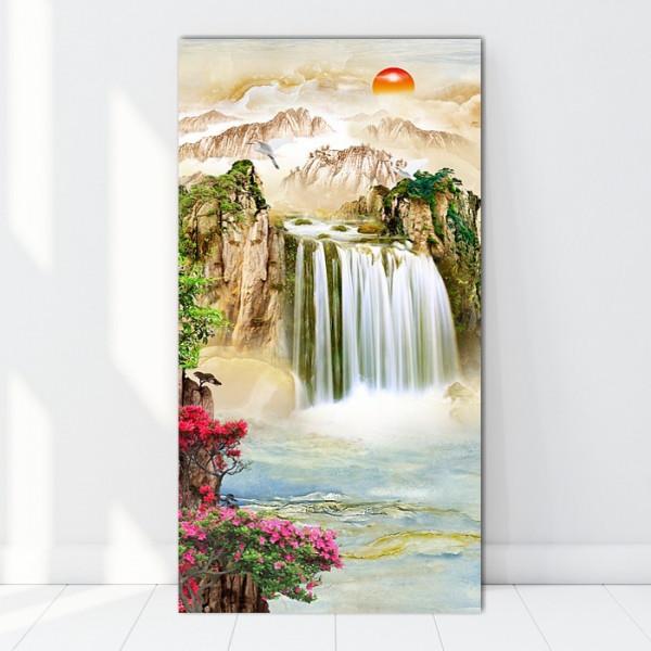 Tablou Canvas Cascada Feng Shui BES125