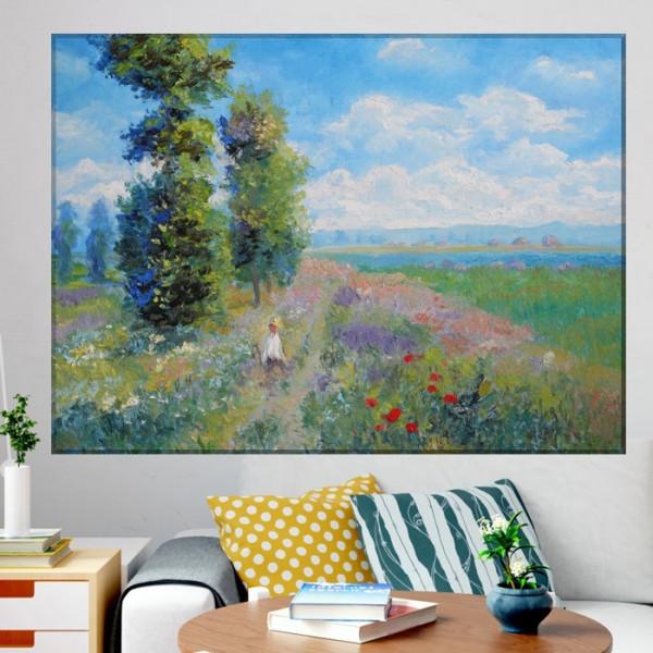 Tablou Claude Monet Peisaj de Vara