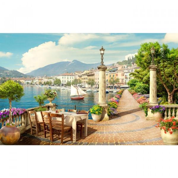 Fototapet 3D Cafenea In Venetia DIF20
