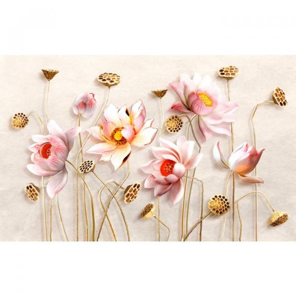 Fototapet 3D Flori de Lotus OPOS56