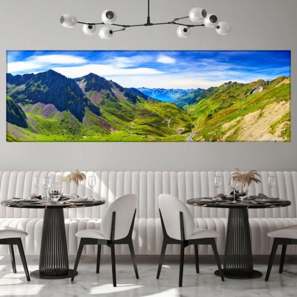 Tablou Canvas Peisaj Pitoresc Muntii Pirinei TML58