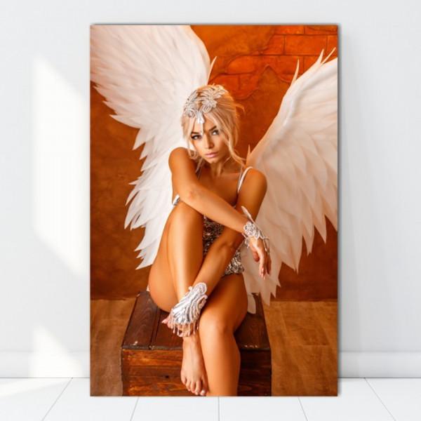 Tablou Femeie Sexy cu Aripi de Inger TNM18