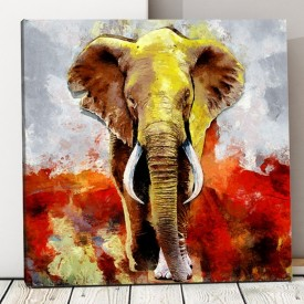 Tablou Canvas Elefant Artistic ASJ16