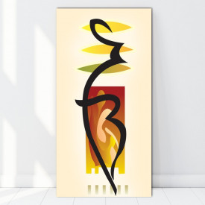 Tablou Canvas Forme Feminine CTB21