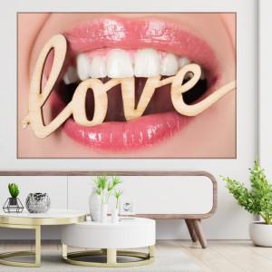 Tablou Canvas Love My Bright Smile TH52