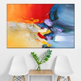 Tablou Canvas Abstract Colors CTB54