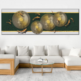 Tablou Canvas Panoramic Feng Shui BES156