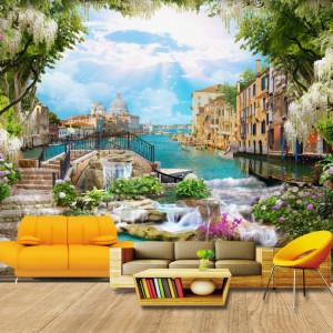 Fototapet 3D Gradina de Vis La Venetia DIF30
