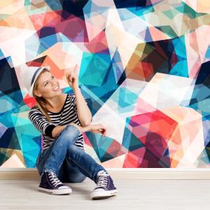 Fototapet Abstract Jocuri Geometrice EXA8