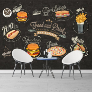 Fototapet Perete Fast Food Restaurant BES111