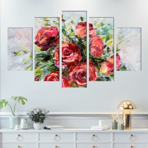 Multicanvas  Buchet de Trandafiri TPF4