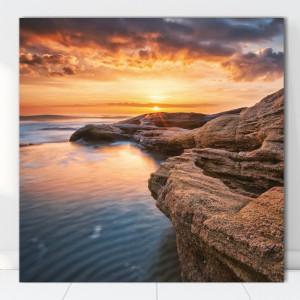 Tablou Canvas Apus pe Coasta TOPSN15