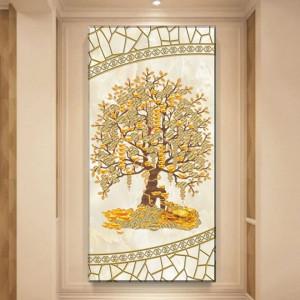 Tablou Copacul cu Bani, Bogatie si Prosperitate FSHB31