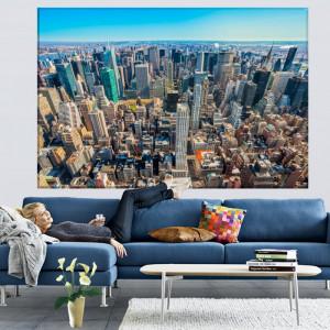 Tablou Vedere Aeriana New York City Manhattan NYM53