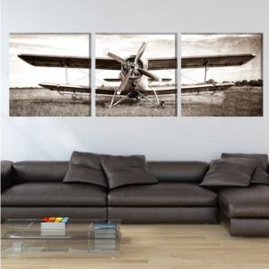 Multicanvas Avion Vintage AMA16