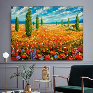 Tablou Claude Monet Camp cu Maci RCM20