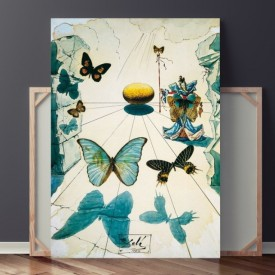 Tablou Canvas Dali - Butterflies TRSD26