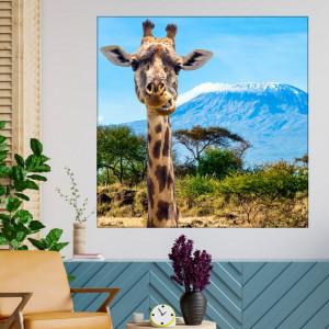 Tablou Canvas Girafa Simpatica ASJ20