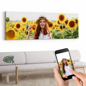Tablou Canvas Personalizat 70x200cm