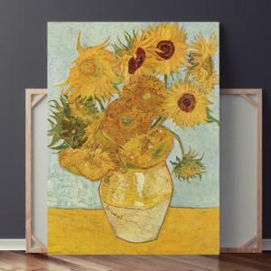 Tablou Van Gogh - 12 Floarea-Soarelui intr-o Vaza VVG7